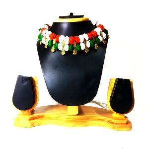 tiranga necklace