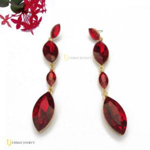 earrings red
