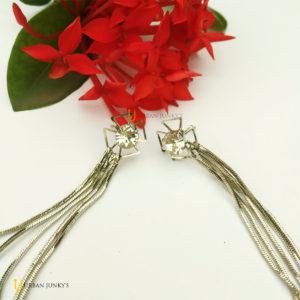 Fashionable western earrings