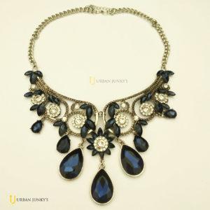 necklace blue stone