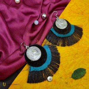 cotton earrings