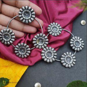 big-round-black-polish-earrings