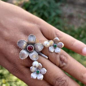 floral--ring-red