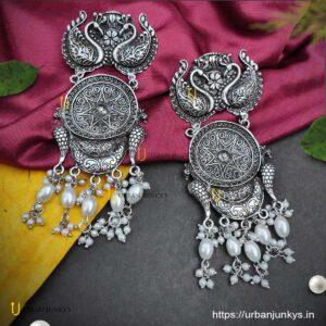 oxidised-over-sized-pearl-earrings