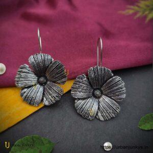 German-silver-flower-bugadi-earrings1