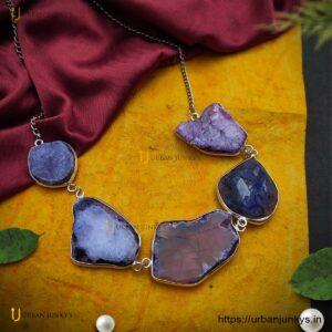 druzzy-stone-chain-necklace