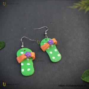 funky-slipper-earrings