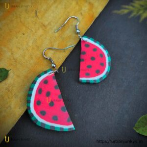 funky-watermelon-earrings