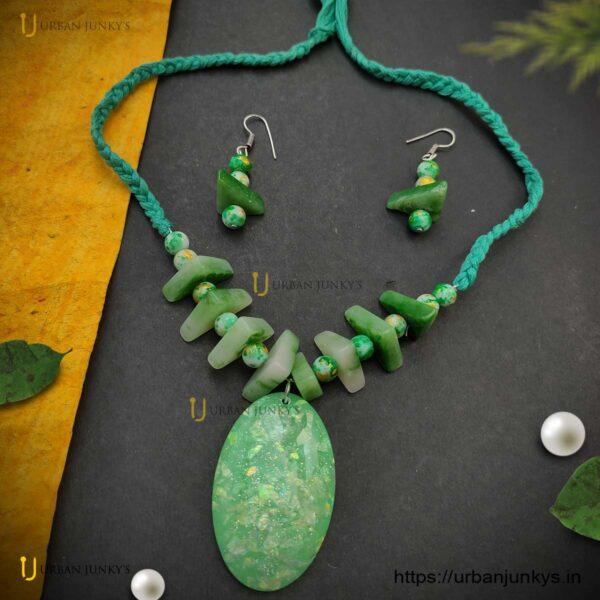 uncut-beads-green-set